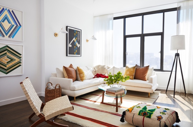 Mindy Kaling New York Apartment Home 1
