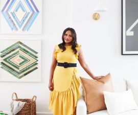 Inside Mindy Kaling's Stylish Moroccan-Inspired NYC Apartment