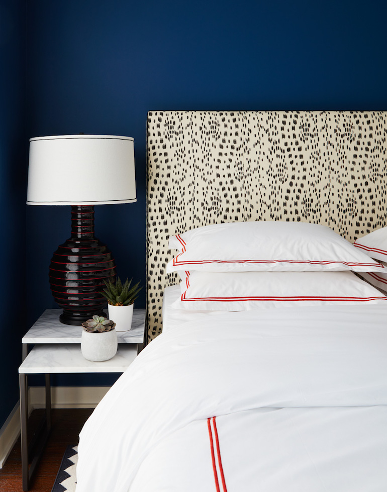 Bold Blue Bedroom _Nicole Gibbons Style _2