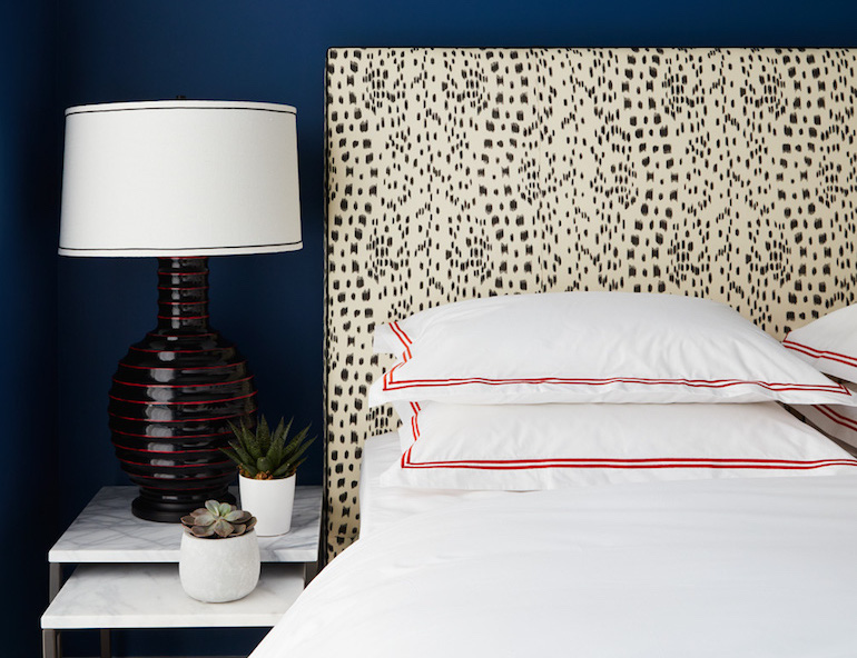 Bold Blue Bedroom _Nicole Gibbons Style _2 copy