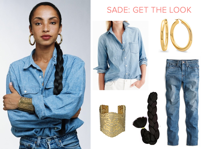 Sade Get the lOok