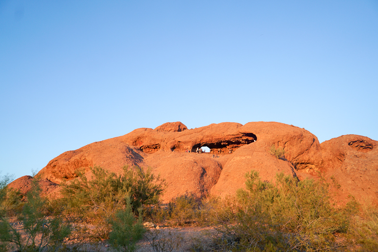 Hole in the Rock at Papago Park