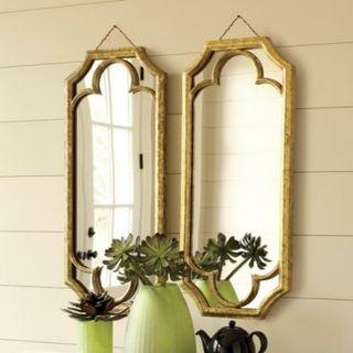 Ballard Quatrefoil Abbey Mirror