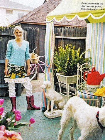 krista ewart on small space big style - nicole gibbons style