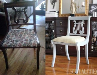 so haute chair before after