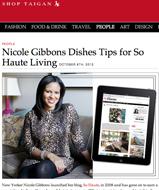 Nicole Gibbons- Taigan Oct 2012