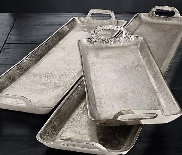Grand Brasserie Cast Aluminum Trays