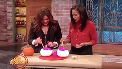 DIY Halloween No-Carve Pumpkin