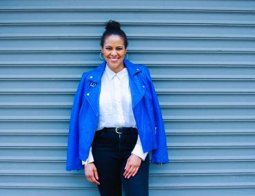 Cerulean Blue Leather Jacket-8