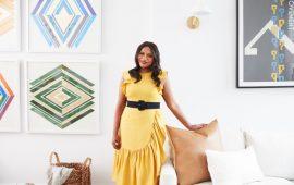 Mindy Kaling New York Apartment Home 3